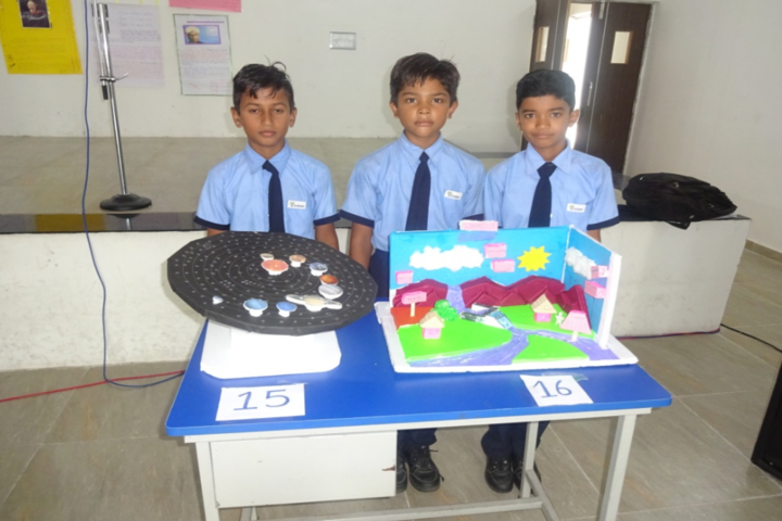 Blue Moon International School,Karjan-Science Fair