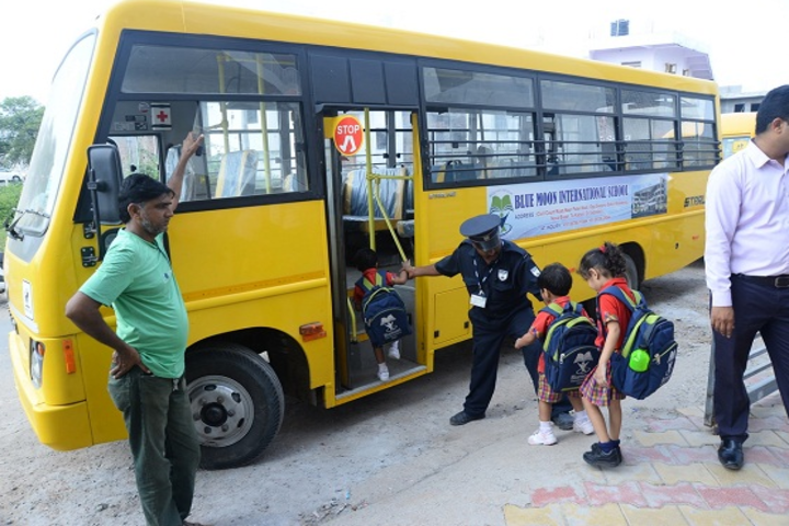 Blue Moon International School,Karjan-Transport