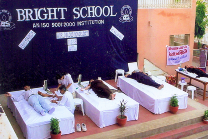 Bright Day School-Blood Donation Camp
