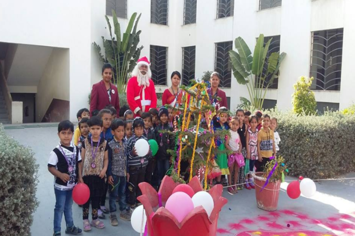 Bright International School-Christmas celebration