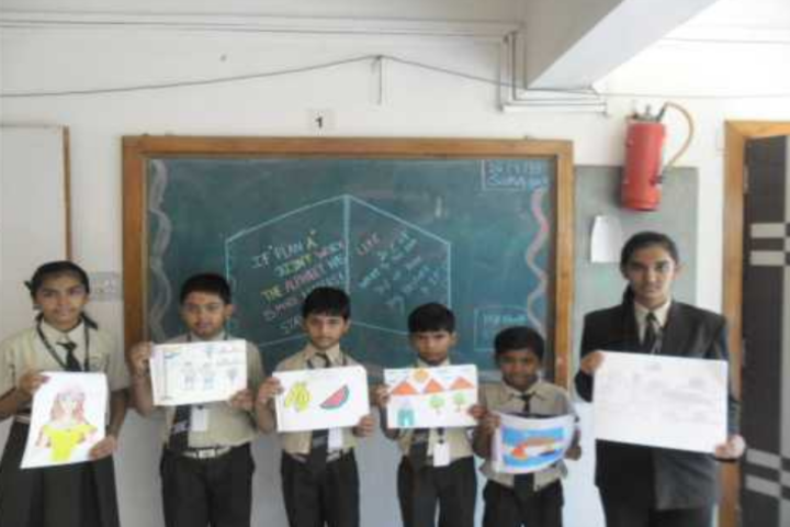 Bright International School-Painting classes