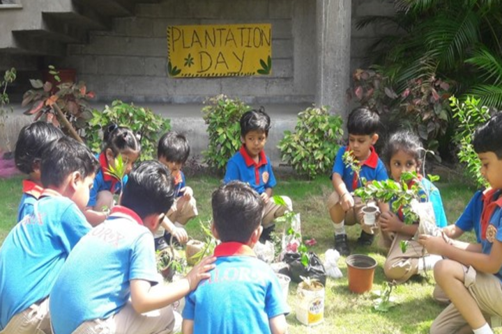 Calorx Public School -Plantation program