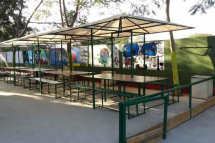 Cosmos Castle International School-Cafeteria