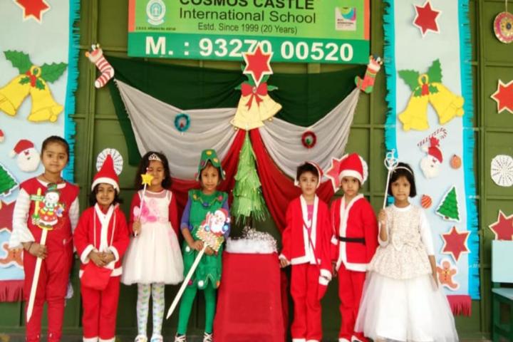 Cosmos Castle International School-Christmas celebration