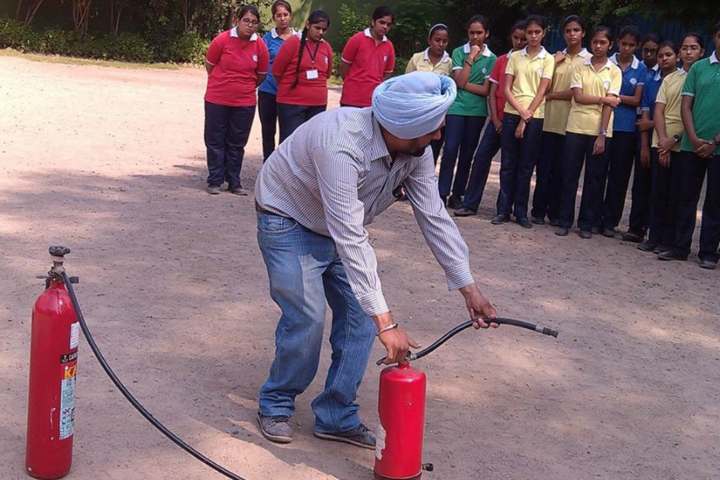 Cosmos Castle International School-Fire and safety program