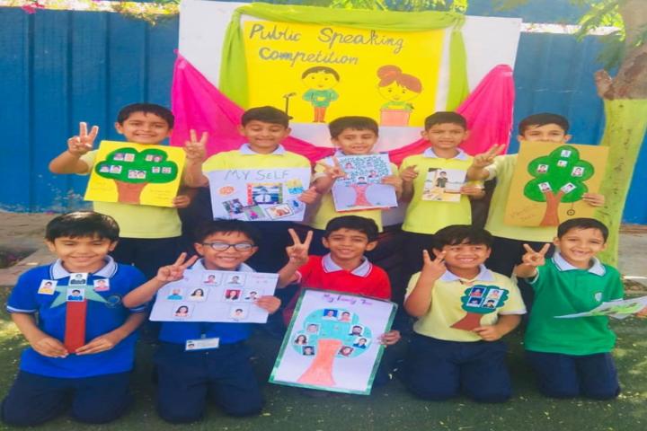 Cosmos Castle International School-Paint classroom