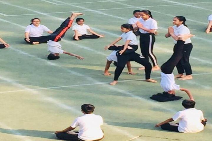 Cosmos Castle International School-Yoga