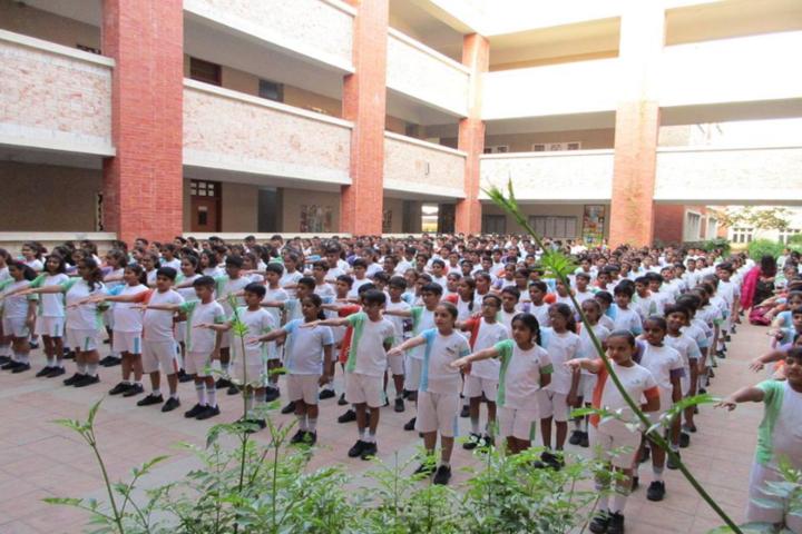 Cygnus World School-Assembly area