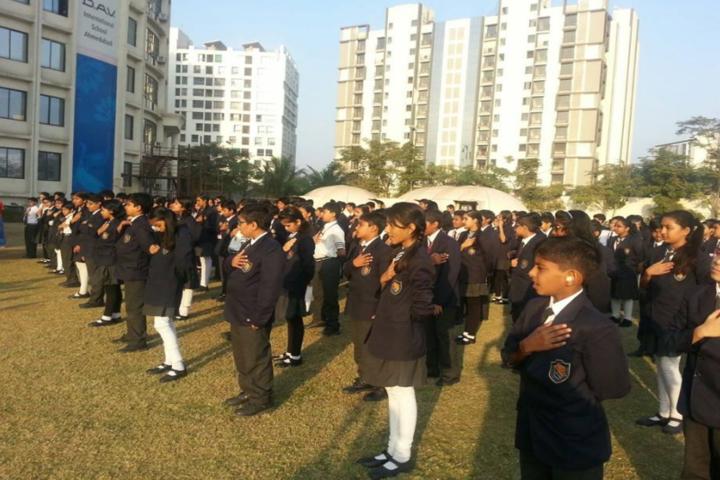 DAV International School-Assembly area