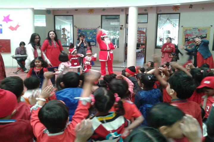 DAV International School-Christmas celebrations