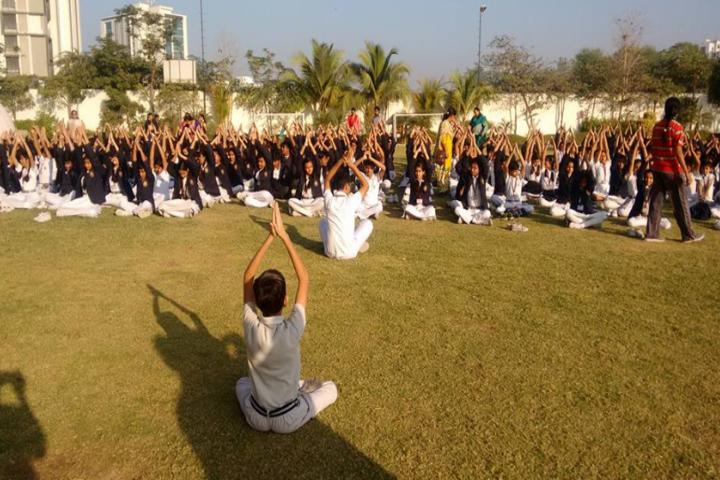 DAV International School-Yoga