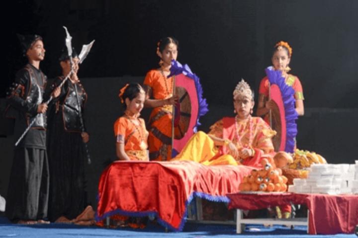 D R Amin Memorial School-Drama activity