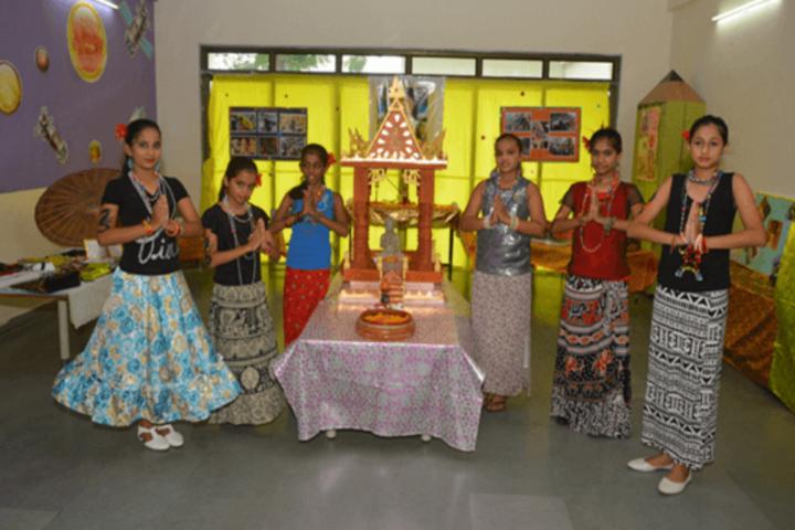 D R Amin Memorial School-Prayer Activity