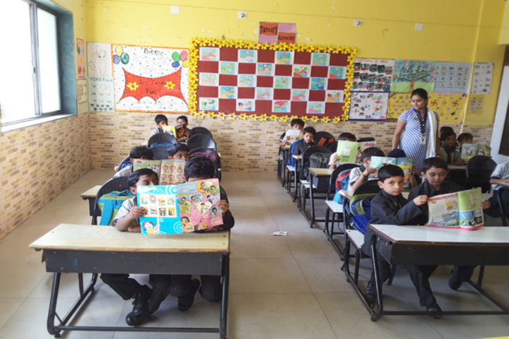 Dayanand Arya Vedic Public School-Classroom