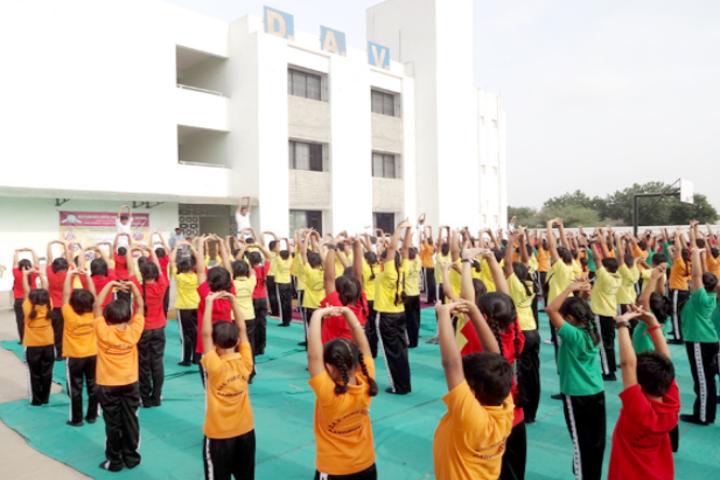 Dayanand Arya Vedic Public School-Yoga