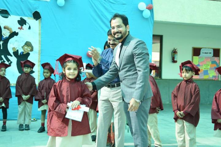 Delhi Public School-Presentation party