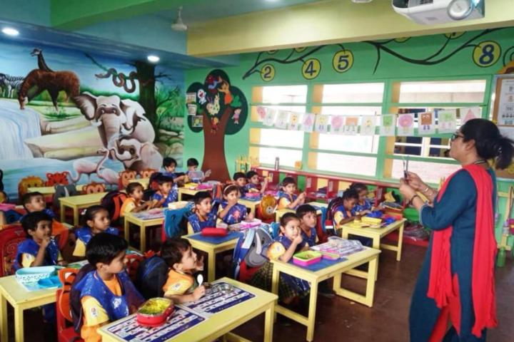 Delhi Public School-Kids Classroom