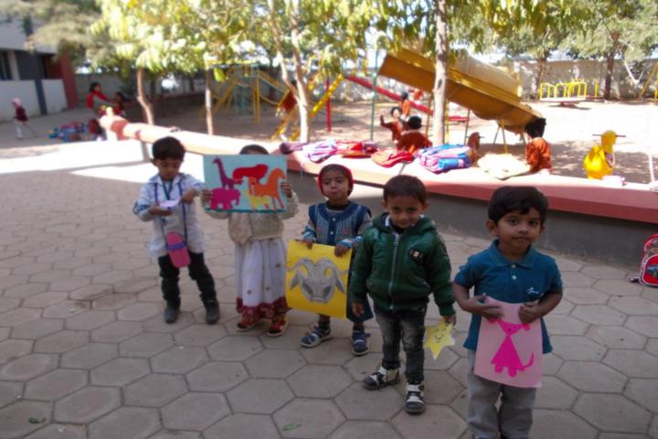 Delhi Public School-Kids play area