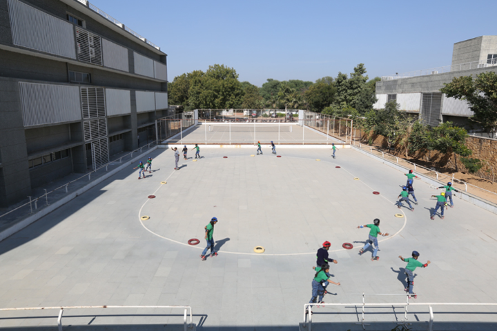 Divine Child International School-Skating