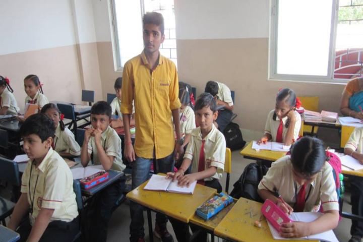 Divya Brahmlok Global Academy-Classroom