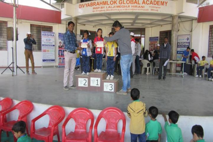 Divya Brahmlok Global Academy-Presentation party