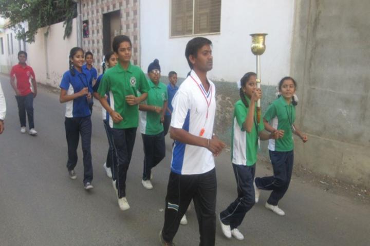 Divya Brahmlok Global Academy-Sports day celebrations