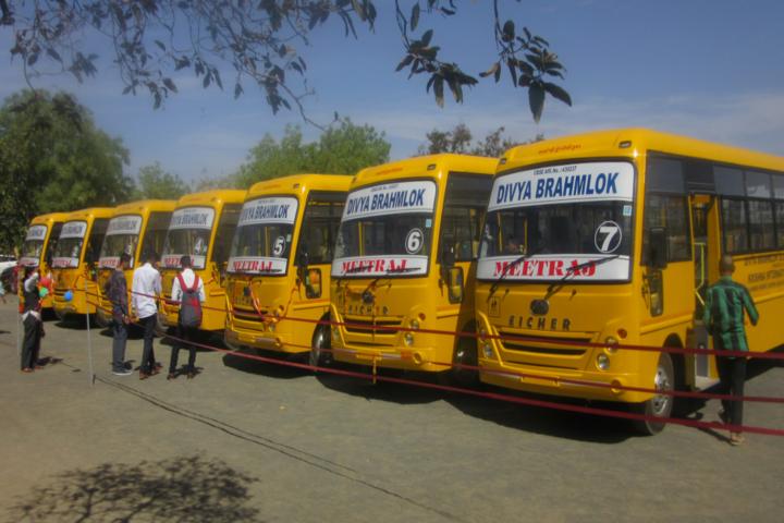 Divya Brahmlok Global Academy-Transport