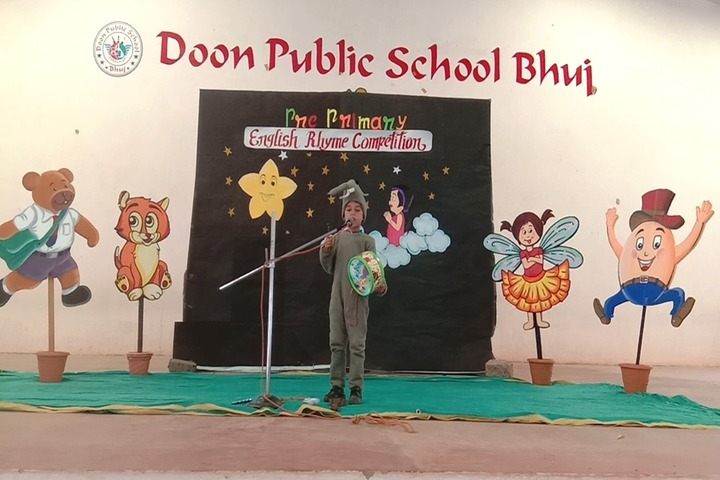 Doon Public School-Rhyme Competition