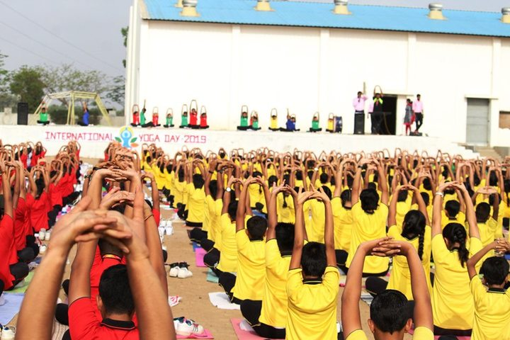Doon Public School-Yoga Activity