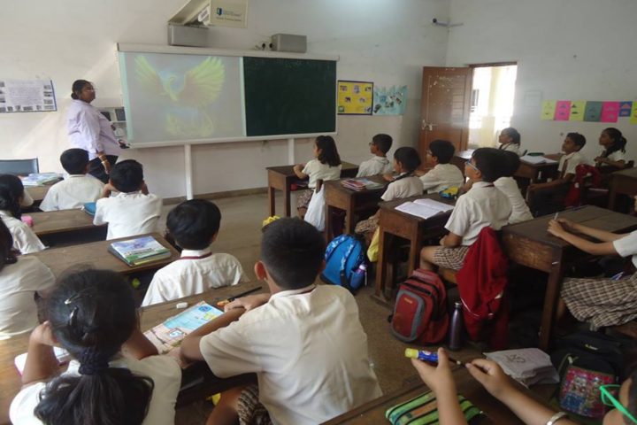 Essar International School-Classroom
