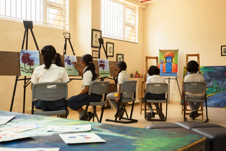 Euro School-Painting Class