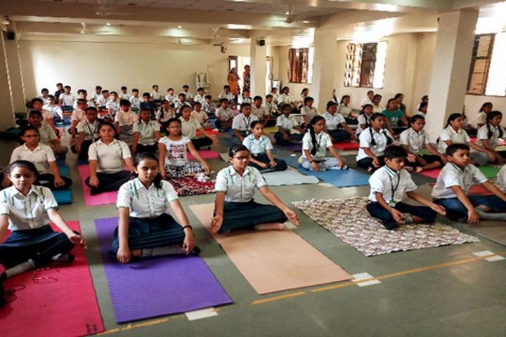 Euro School-World Yoga Day