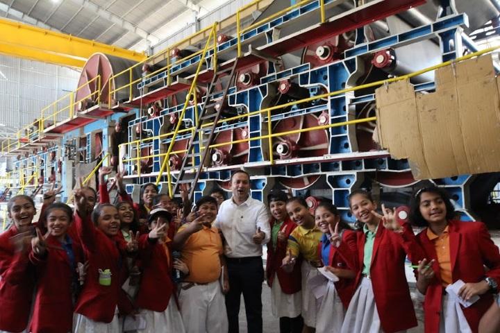 G D Goenka International School-Trip To Paper Factory