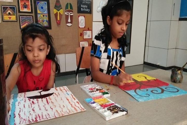 Gajera Global School-Creative Art Summer Camp