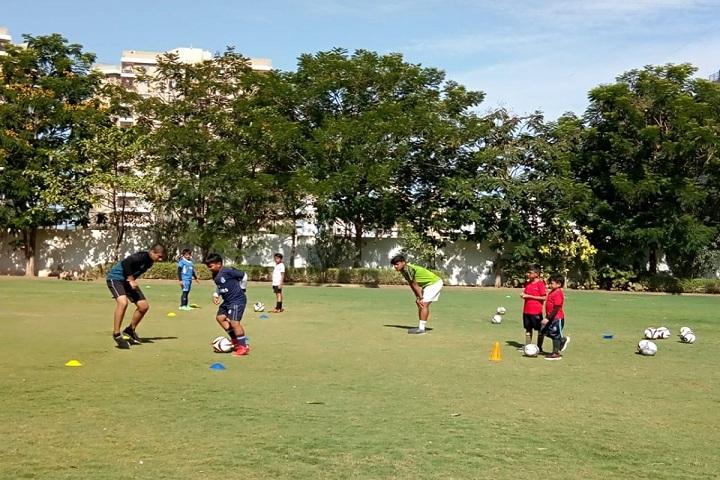 Gajera Global School-Football Summer Camp