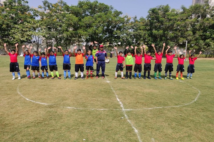 Gajera Global School-Football league