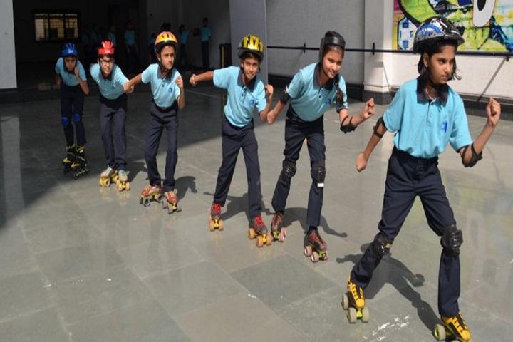Gajera Global School-Skating Activity
