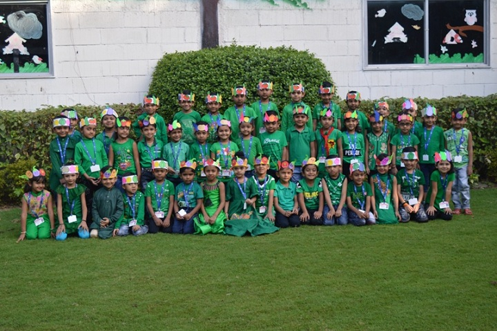 Gajera International School-Green Day Celebrations