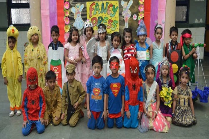 Gajera International School-Fancy Dress Competition