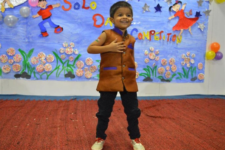 Gajera International School-Solo Dance Performance