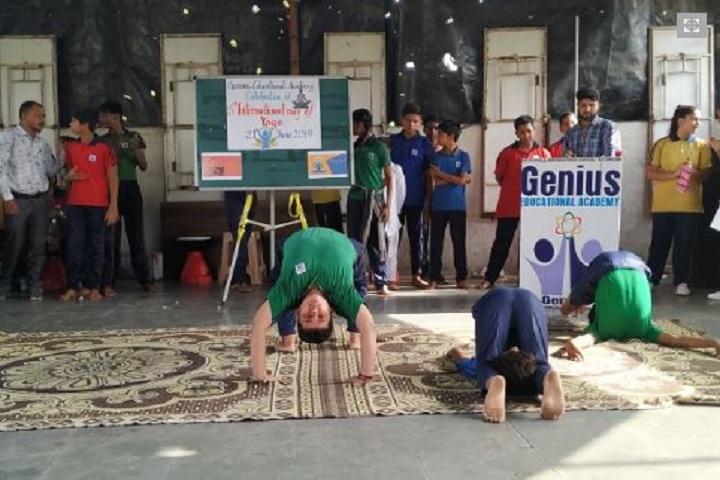 Genius Educational Academy-Yoga