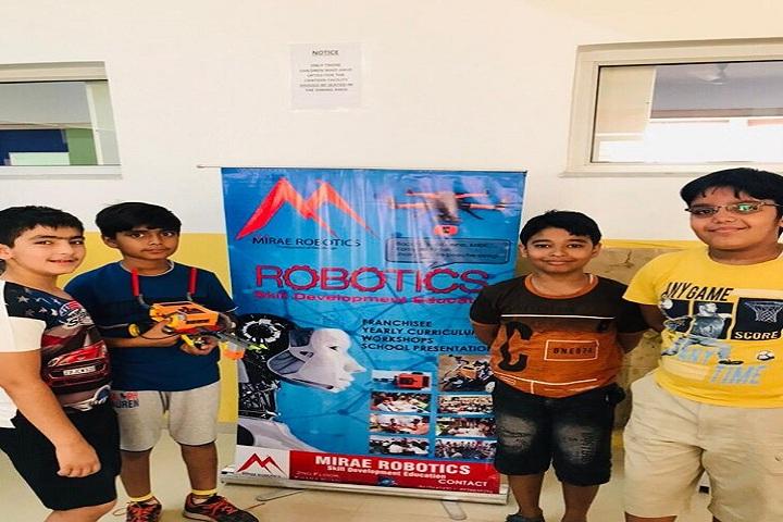 Global Indian International School-Robotics