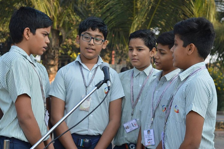 Global Indian International School-Group singing