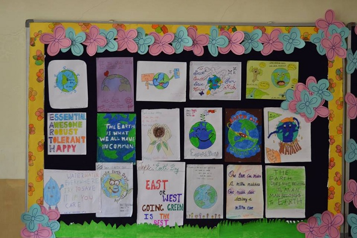 Global Indian International School-Art Work