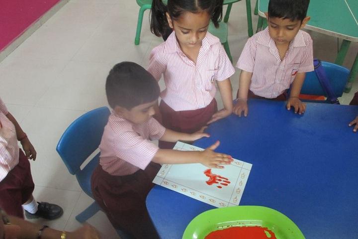 Global Indian International School-Nursery Activity