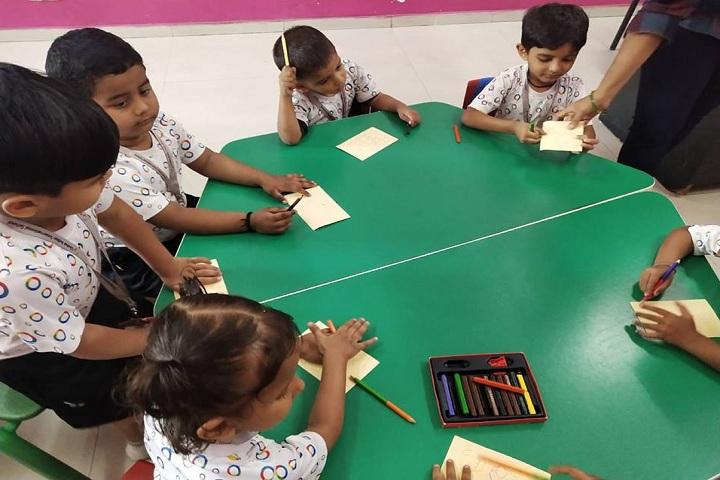 Global Indian International School-Drawing Activity