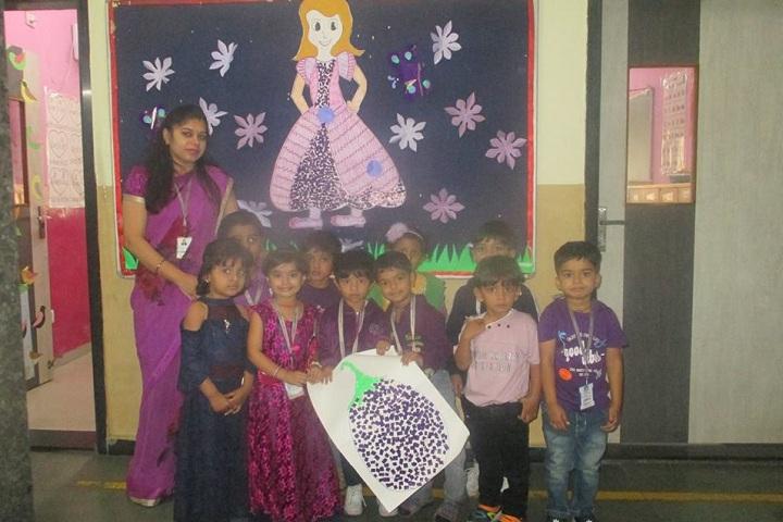 Global Indian International School-Purple Day