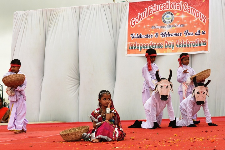 Gokul Global School-Independence Day Celebrations