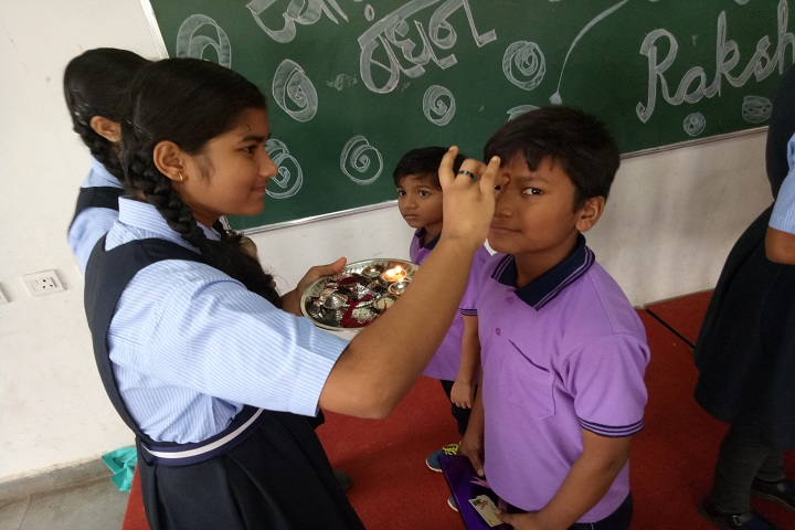Gokul Global School-Raksha Bandhan Celebrations