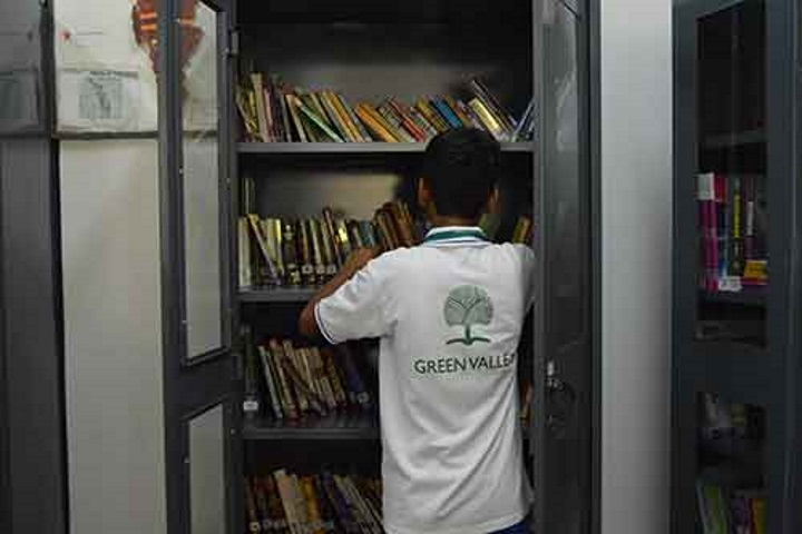 Green Valley High School-Library